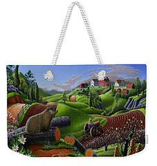 I Love Appalachia - Spring Groundhog Weekender Tote Bag