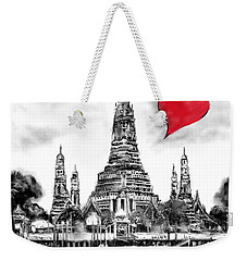 I Love Bangkok Weekender Tote Bag
