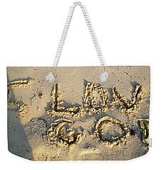 I Love God Weekender Tote Bag