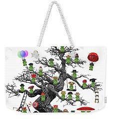 I Love Gummy Bears Weekender Tote Bag