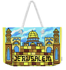I Love Jerusalem Weekender Tote Bag