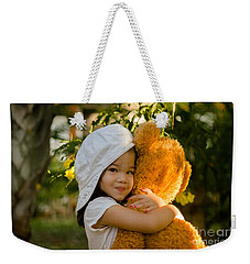 I Love My Teddy Bear Weekender Tote Bag