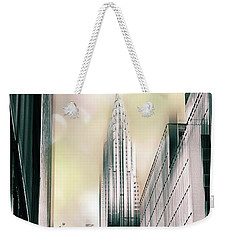 I Love New York Weekender Tote Bag by Jessica Jenney