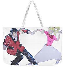 I Love Rock 'n' Roll Weekender Tote Bag