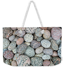 I Love Stones Weekender Tote Bag by Kathi Mirto