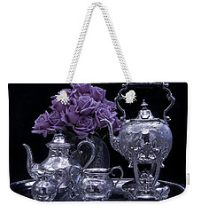 I Polished My Silver For You Weekender Tote Bag by Sandra Foster