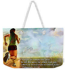 I Press - Female And Text Weekender Tote Bag