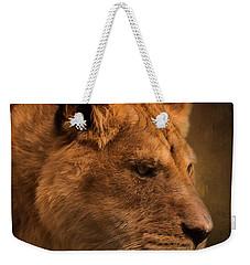 I Promise - Lion Art Weekender Tote Bag