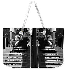 I Saw A Man Weekender Tote Bag