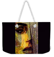Weekender Tote Bag featuring the digital art I See Everything  by Rafael Salazar