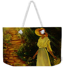 I See The Light Weekender Tote Bag by Emery Franklin