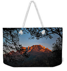 Weekender Tote Bag featuring the photograph I See The Light by Melissa Lane