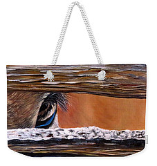 I See You Weekender Tote Bag by Marilyn McNish