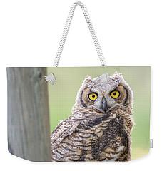 I See You Weekender Tote Bag by Scott Warner