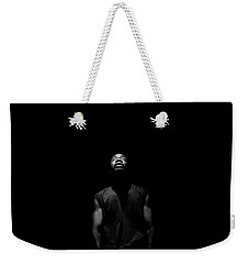 Weekender Tote Bag featuring the photograph I See Your Face by Eric Christopher Jackson