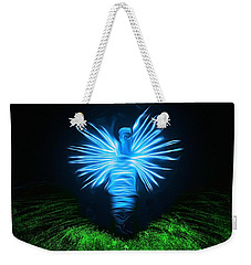 Weekender Tote Bag featuring the photograph I Sing The Body Electric by Mark Fuller