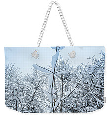 Weekender Tote Bag featuring the photograph I Stand Alone- by JD Mims