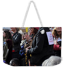 I Stand With Pp Weekender Tote Bag