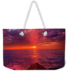 Weekender Tote Bag featuring the photograph I Still Believe In What Could Be by Phil Koch