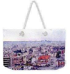 Weekender Tote Bag featuring the photograph I Still Have Paris by Susan Maxwell Schmidt