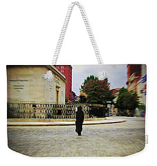 Weekender Tote Bag featuring the photograph I Walk Alone by Brian Wallace