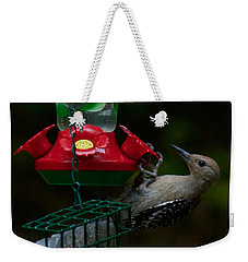 Weekender Tote Bag featuring the photograph I Want To Be A Hummingbird by Robert L Jackson