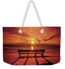 Weekender Tote Bag featuring the photograph I Will Always Be With You by Phil Koch