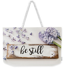 Weekender Tote Bag featuring the photograph I Will Be by Kim Hojnacki
