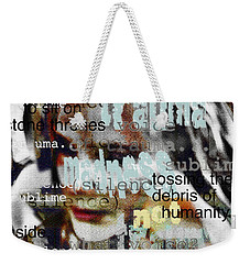 Mistaken Identity-i Will Be Silent No More Weekender Tote Bag