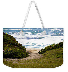 I Will Follow - Ocean Photography Weekender Tote Bag