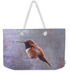 I Wrote A Letter To My Love Weekender Tote Bag by Diane Schuster