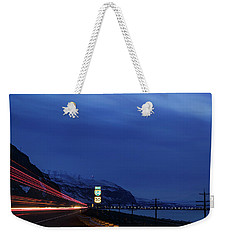 Weekender Tote Bag featuring the photograph I84 by Cat Connor