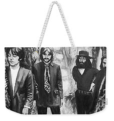 And In The End Weekender Tote Bag by Rebecca Glaze