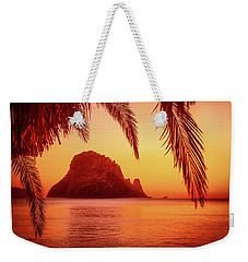 Ibiza Sunset Weekender Tote Bag by Iryna Goodall