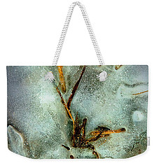 Ice Abstract Weekender Tote Bag