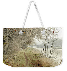 Ice And Mist Weekender Tote Bag