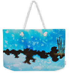 Ice And Snow Weekender Tote Bag