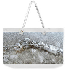 Ice And The Beach Four  Weekender Tote Bag by Lyle Crump