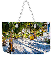 Weekender Tote Bag featuring the photograph Ice Beans by Lawrence Burry
