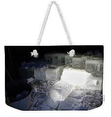 Ice Blocks In House Weekender Tote Bag