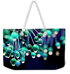 Ice Blue Crab Apples  Weekender Tote Bag