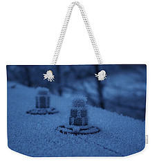 Ice Bolts Weekender Tote Bag