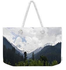 Ice Caps Weekender Tote Bag