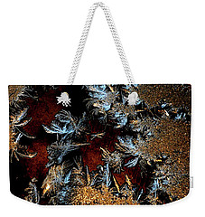 Ice Cold Gold Weekender Tote Bag