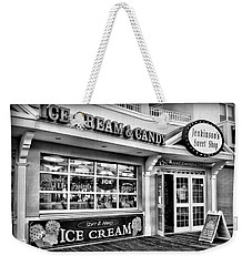 Ice Cream And Candy Shop At The Boardwalk - Jersey Shore Weekender Tote Bag