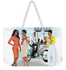 Ice Cream With Style Weekender Tote Bag