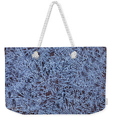 Ice Crystals Weekender Tote Bag