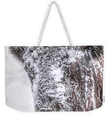 Ice Faced Weekender Tote Bag