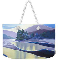 Ice Floes Weekender Tote Bag
