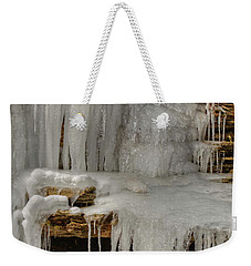 Ice Flow Weekender Tote Bag
